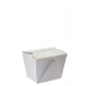 500ml [No1] Waxed food/ice cream box - white
